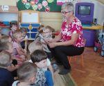 Spotkanie z emerytowaną nauczycielką