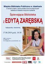 Śpiewająca biblioteka z Edytą Zarębską