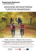 Szkolenie instruktorów turystyki rowerowej