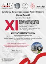 XI edycja konkursu historycznego