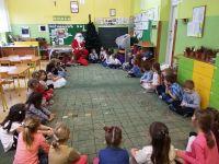 Święty Mikołaj wPrzedszkolu