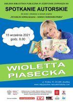 Spotkanie zWiolettą Piasecką